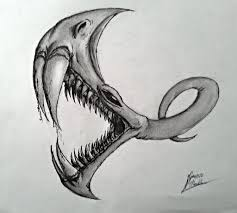dragon cave monster hand drawing by aran34x on deviantart