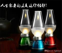 2015 new led retro l ls novelty lighting usb rechargeable