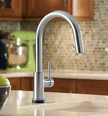 what to look for in a kitchen faucet delta trinsic 9159t ar dst single handle pull kitchen faucet review