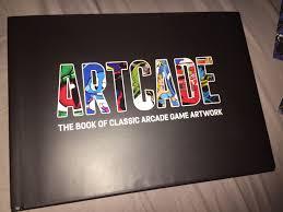 amazing artcade coffee table book