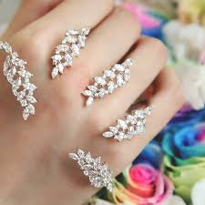 beautiful hand rings images European trendy exclusive custom super beautiful modelling inlaid jpg