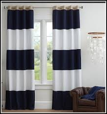 Blue And Striped Curtains Navy Blue Striped Curtains And Navy Blue Ticking Stripe