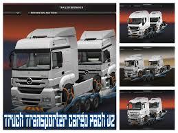 another cargo for truck transporter v2 0 trailer euro truck