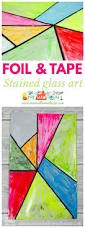 faux stained glass art for kids faux stained glass glass art