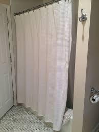Cotton Waffle Shower Curtain Shower Curtain Glam