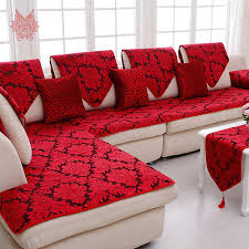 sofa canapé floral jacquard terry cloth sofa cover plush chair