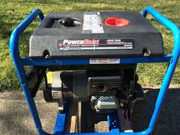 coldstart powerback 5000 watt electric generator 9hp briggs