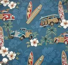Surfer Shower Curtain Shower Curtain Woody Surfboard Print