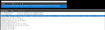 qt programming visual studio qt creator 4 0 3 reports warning cannot find visual studio