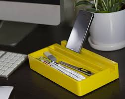 Yellow Desk Organizer Cherry Wood Office Desk Organizer Desktop Shelf Office