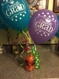 air balloon centerpiece with mason jar flower arrangements