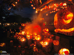 halloween pumpkin desktop wallpaper hd images lantern collection