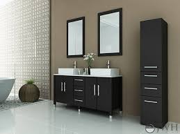 59 Bathroom Vanity by Jwh Living Sirius Stone Double 59 Inch Modern Bathroom Vanity