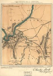 Chattanooga Tennessee Map by Chattanooga Battlefield Scholl Civil War Trust