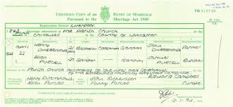 catholic marriage certificate what information can be found on a marriage certificate getting