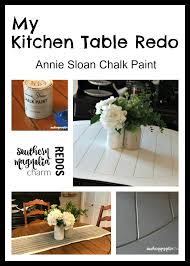 Redo Kitchen Table by Kitchen Table Redo Southern Magnolia Charm