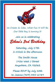 printable spidermand birthday invitation u2013 orderecigsjuice info