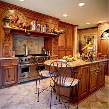 country kitchen wall decor ideas kitchen tile floor granite countertop book cabinet range