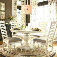 White Oak Dining Room Set - wayfair dining tables awesome wayfair round dining table with