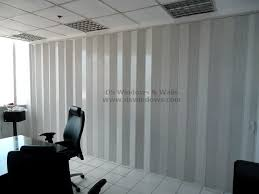 Accordion Curtain Pvc Accordion Door As Folding Partition For Conference Room