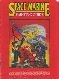games workshop space marines painting guide 1st ed