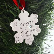 personalized baby christmas ornament baby s christmas ornament dreamwillowstudio