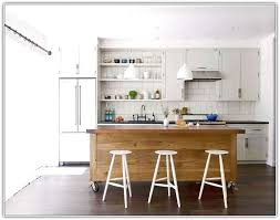 Casters For Kitchen Island Top Kitchen Island On Casters Homesfeed For With Designs Great