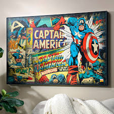 Captain America Decor Redefine Retro Decor 5 Trends With A Throwback Twist My