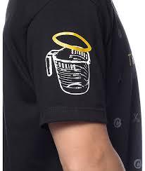 men u0027s clothing cookies x gucci mane trap god black t shirt 985