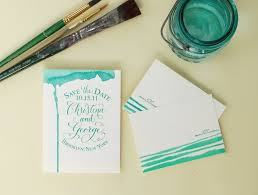 diy save the dates antiquaria diy series sted watercolor save the dates