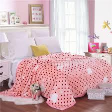 couverture pour canapé dot blanc apple motif literie lit couverture