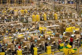 amazon black black friday 19 crazy images of amazon warehouses before black friday