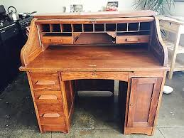 Roll Top Desk Antique Turn Of The Century Antique Roll Top Desk Eagle Lock Co