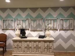 Gold Wall Paint by Chevron Wall Redo Classy Clutter