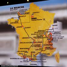 Carcassonne France Map by Tour De France 2016 Route Revealed Pezcycling News