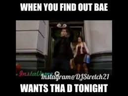 Wants The D Meme - when you find out bae wants tha d tonight youtube