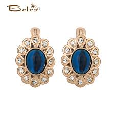 royal blue earrings online get cheap gold and royal blue earrings aliexpress