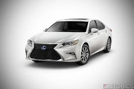 white lexus inside lexus es300h hybrid luxury sedan launched in india at inr 55