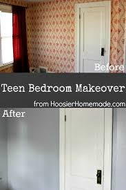 Teen Bedroom Makeover - teen bedroom makeover part 1 hoosier homemade