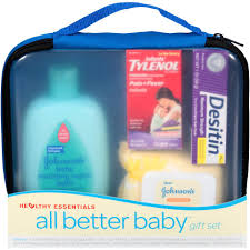 baby gift sets johnson and johnson healthy essentials all better baby gift set