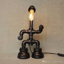 Edison Bulb Table Lamp 2017 Vintage Water Table Lamps Water Pipe Table Lamp Edison Light