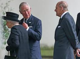 queen elizabeth prince philip attend funeral of countess mountbatten