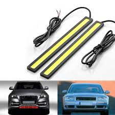 cob led light bar riorand 2 pcs set waterproof aluminum high power 6w 6000k xenon