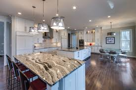 kitchen with 2 islands quartz countertops kitchen with 2 islands lighting flooring