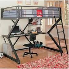 loft bed frame full