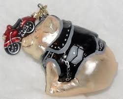 Pottery Barn Christmas Ornaments Ebay by 164 Best Harley Christmas Tree Images On Pinterest Harley