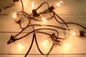 globe string lights brown wire marvelous clear lumabase light globe string lights also lumabase