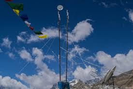 Radio Tower For Internet How To Use The Internet On The Summit Of Everest Motherboard
