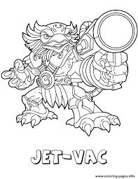 skylanders giants air series1 jet vac coloring pages printable