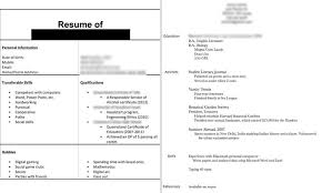 handing in a resume in person dissecting the good and bad resume in a creative field emily